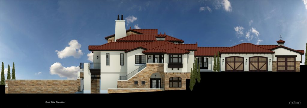 092115 BARR RESIDENCE - Schematic Elevation - 2